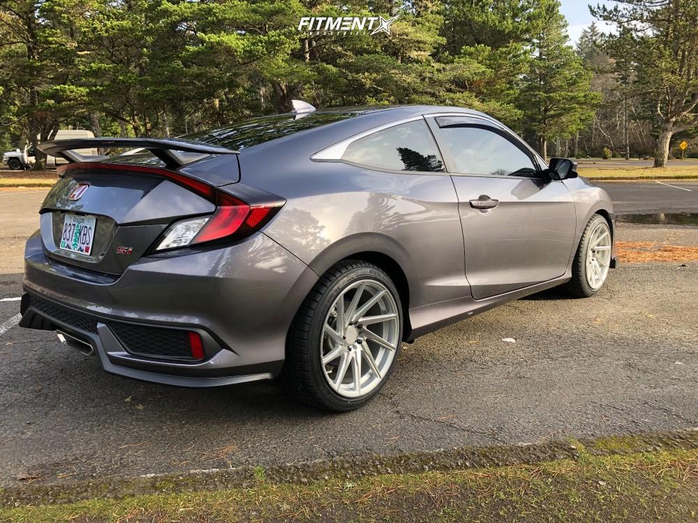 4 2018 Civic Honda Si Stock Stock F1r F29 Silver