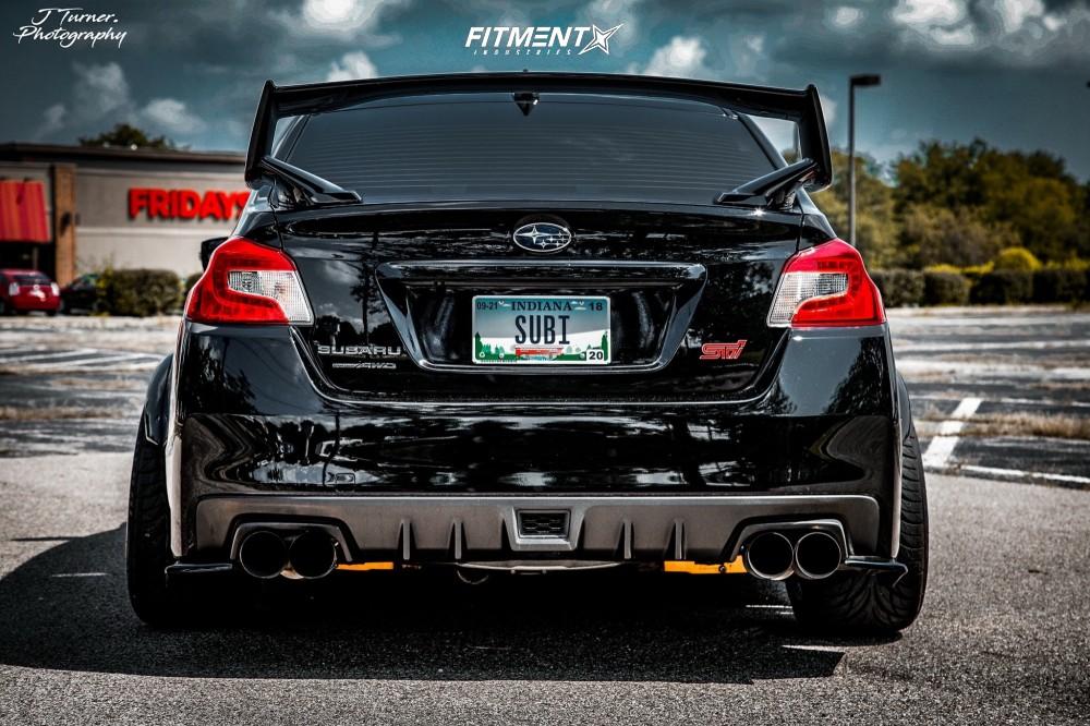 2015 Subaru Wrx Sti Cosmis Racing Xt 006r Tein Coilovers Fitment Industries