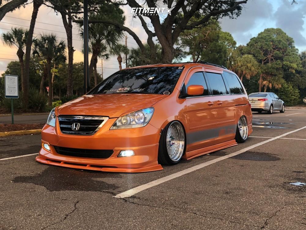 Wheel Offset 2007 Honda Odyssey Tucked Air Suspension   Fitment Industries