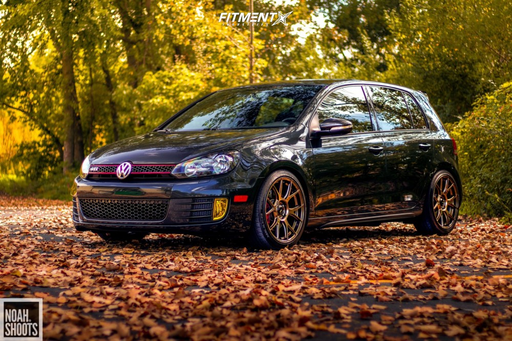 1 2013 Gti Volkswagen Base Forge Motorsports Coilovers Konig Ampliform Bronze
