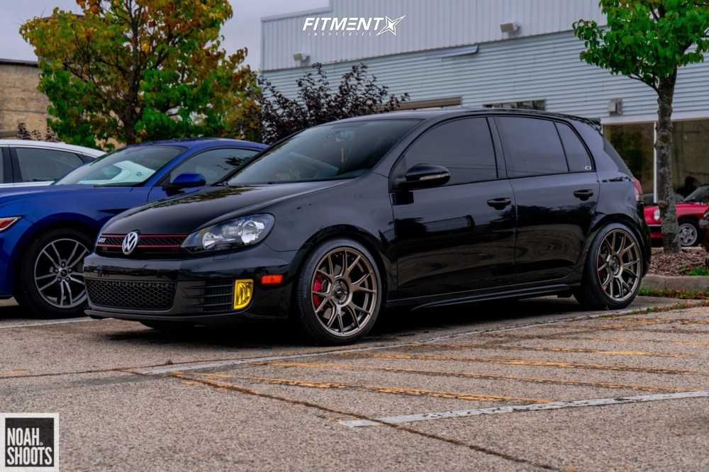 14 2013 Gti Volkswagen Base Forge Motorsports Coilovers Konig Ampliform Bronze