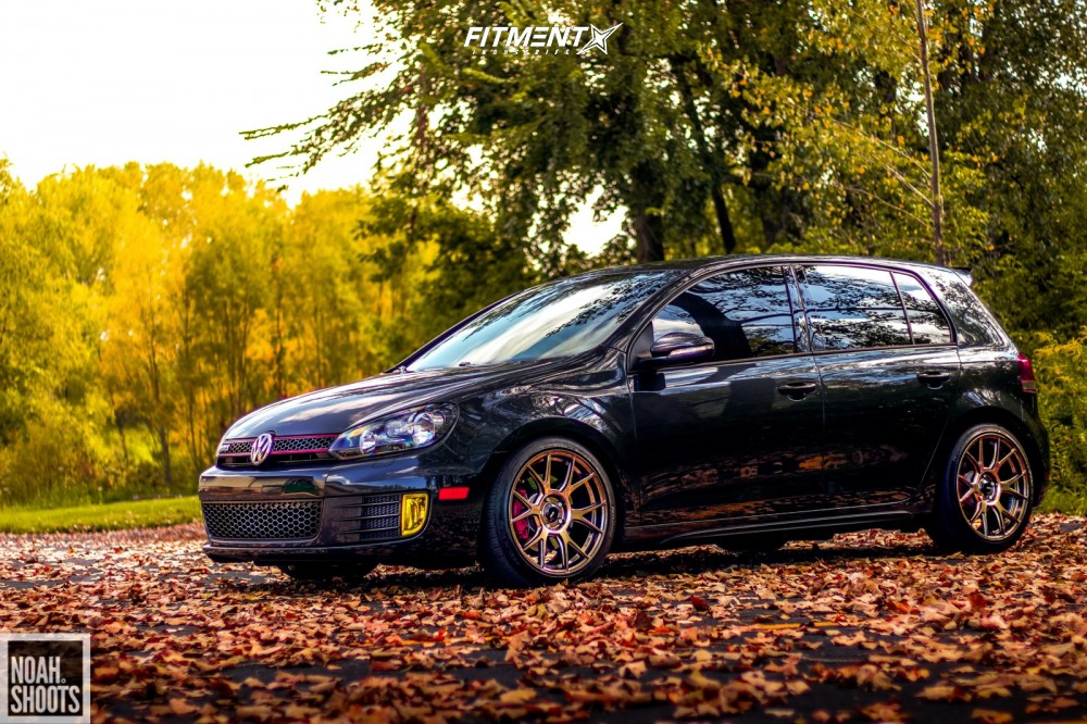 16 2013 Gti Volkswagen Base Forge Motorsports Coilovers Konig Ampliform Bronze