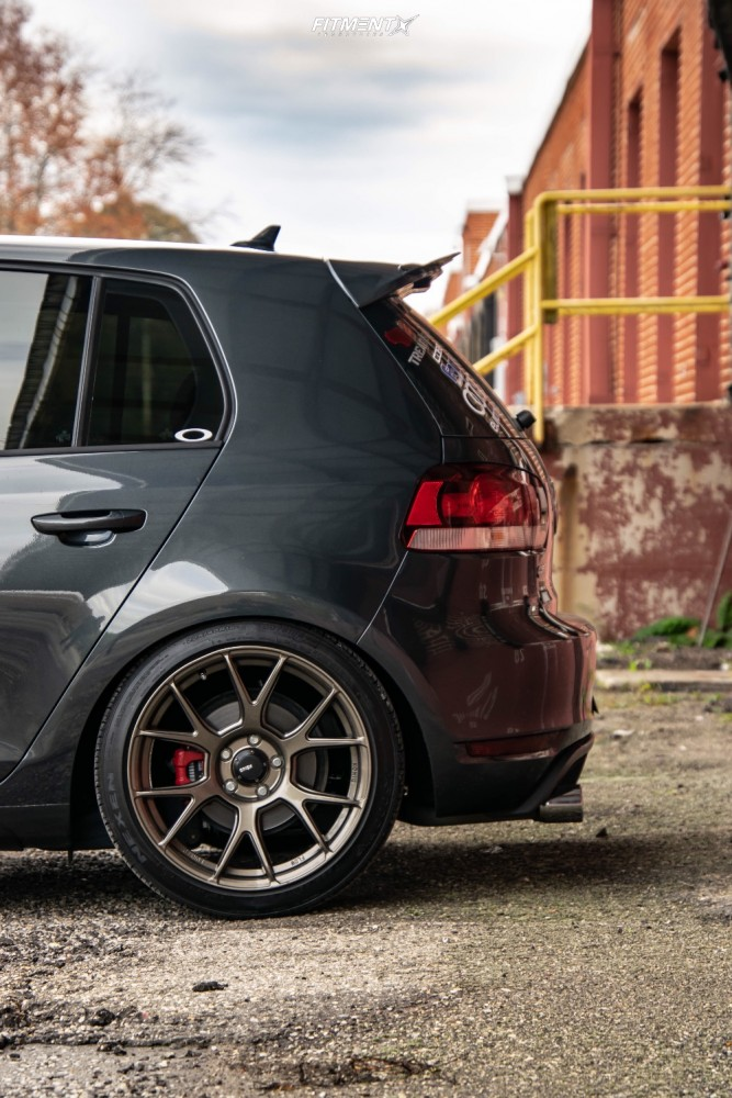 5 2013 Gti Volkswagen Base Forge Motorsports Coilovers Konig Ampliform Bronze