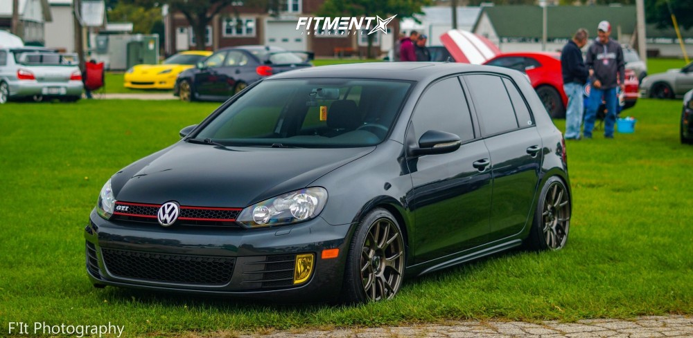 7 2013 Gti Volkswagen Base Forge Motorsports Coilovers Konig Ampliform Bronze
