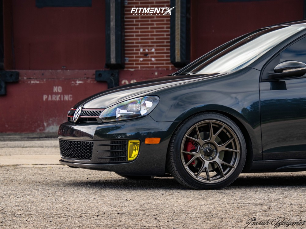 8 2013 Gti Volkswagen Base Forge Motorsports Coilovers Konig Ampliform Bronze