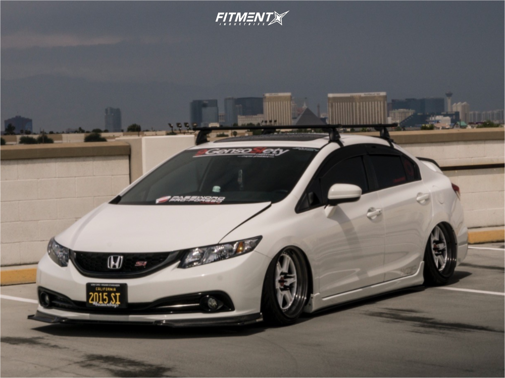 1 2017 Civic Honda Si Air Lift Performance Suspension Pword Jdm Roku White