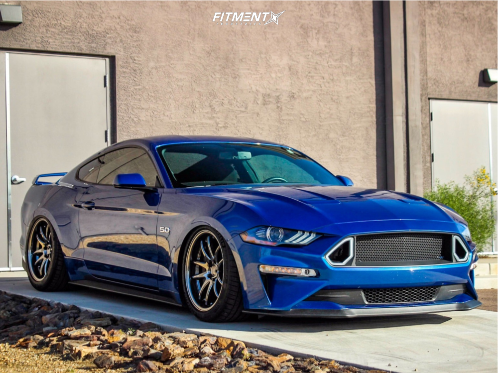 Bagged S550 Mustang GT