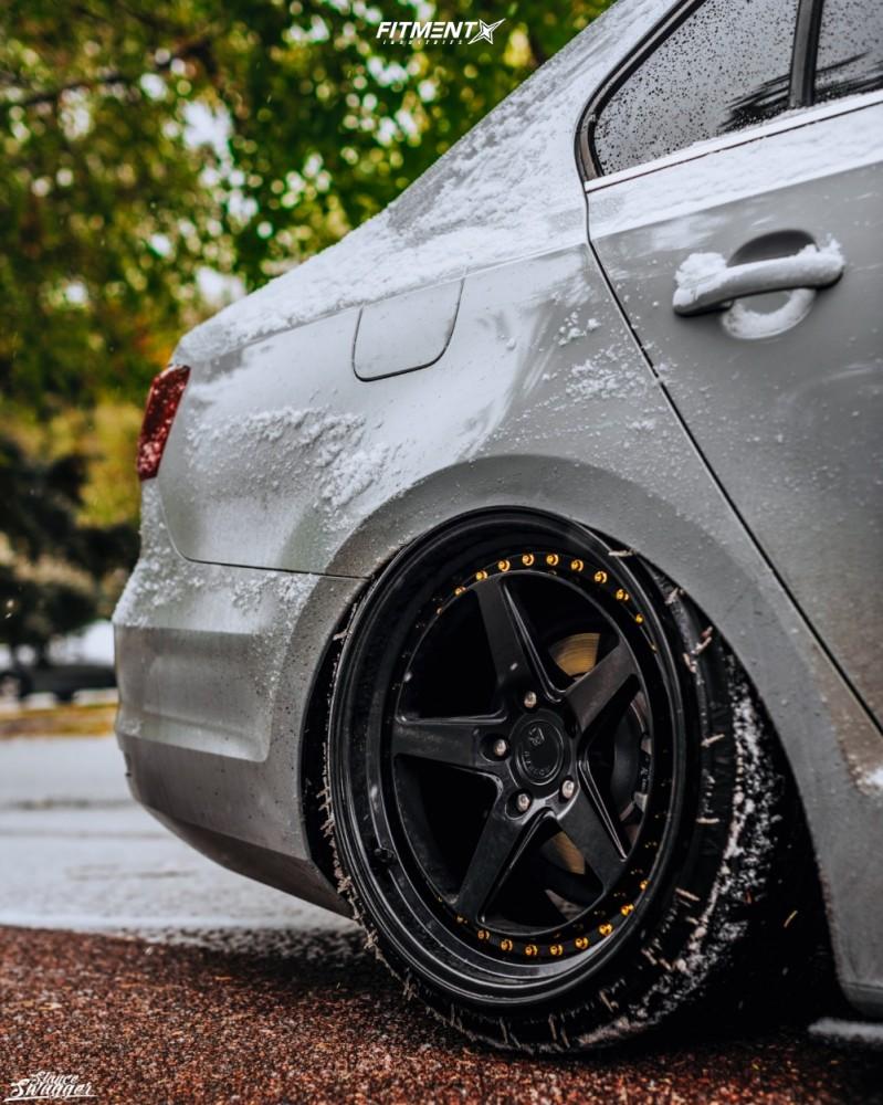 10 2018 Jetta Volkswagen Se Air Lift Performance Air Suspension Aodhan Ds05 Black