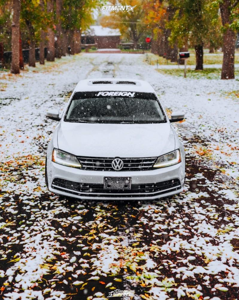 2 2018 Jetta Volkswagen Se Air Lift Performance Air Suspension Aodhan Ds05 Black