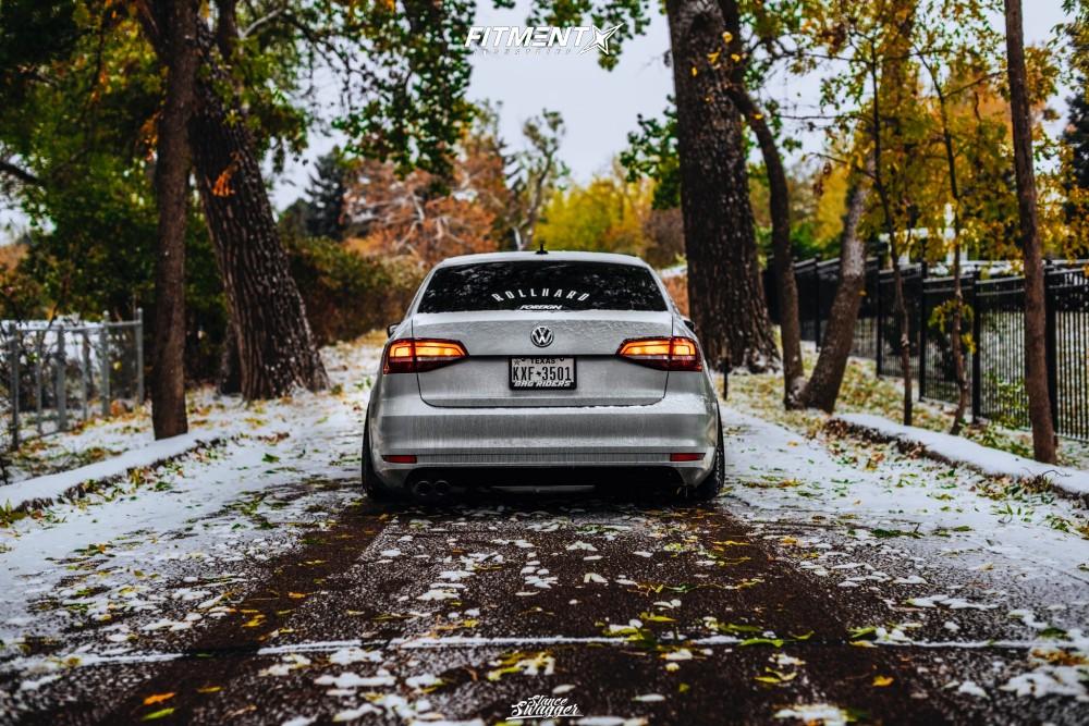 3 2018 Jetta Volkswagen Se Air Lift Performance Air Suspension Aodhan Ds05 Black