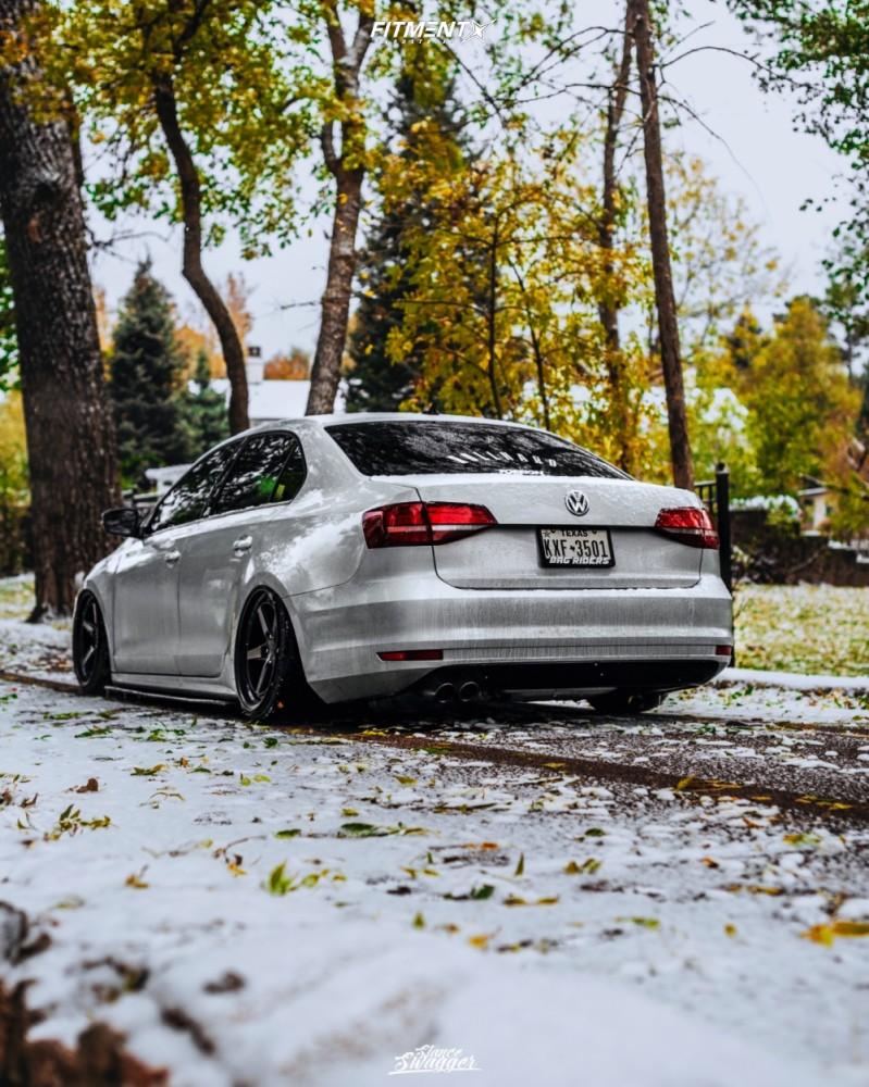 4 2018 Jetta Volkswagen Se Air Lift Performance Air Suspension Aodhan Ds05 Black