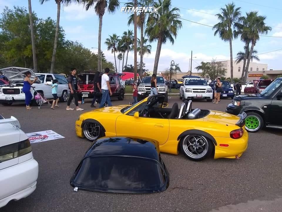 16 2002 Miata Mazda Se Truhart Air Suspension Klutch Sl2 Black