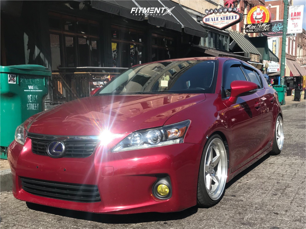 1 2012 Ct200h Lexus Base D2 Racing Coilovers Aodhan Ds05 Machined