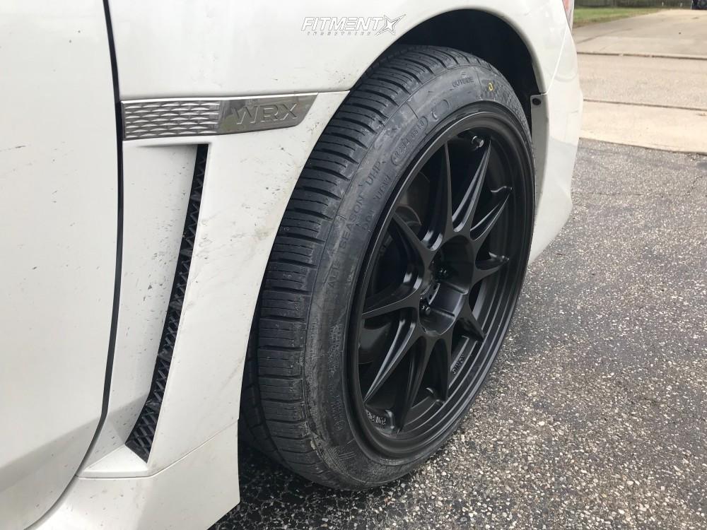 HellaFlush 2018 Subaru WRX with 18x9.5 Konig Dekagram and Nankang NS-25 235/40 on Stock Suspension - Fitment Industries Gallery