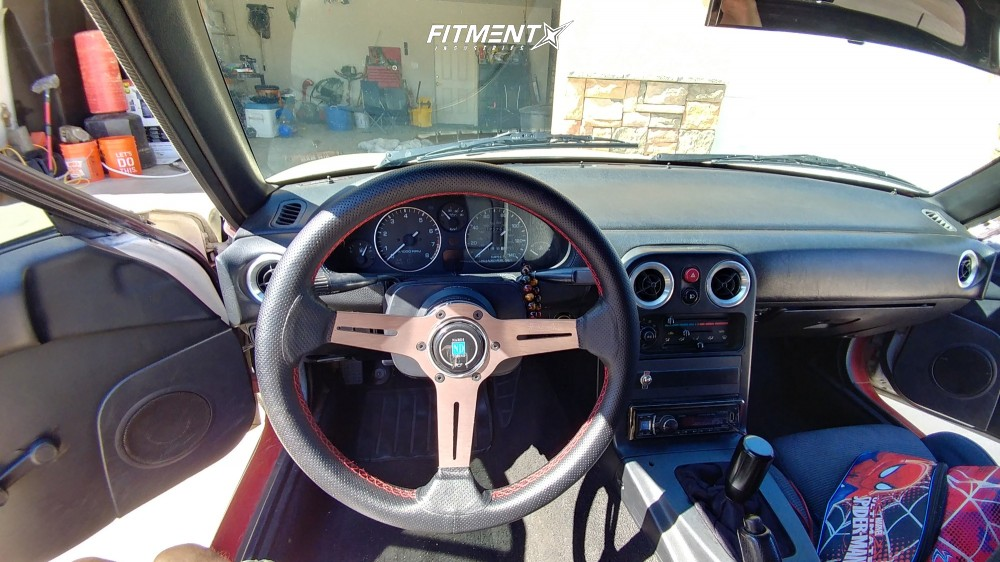 7 1990 Mx 5 Miata Mazda Base Megan Racing Coilovers Verde Boost White
