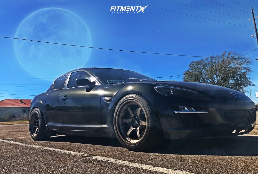 1 2009 Rx 8 Mazda Grand Touring Tein Coilovers Cosmis Racing Xt 006r Bronze