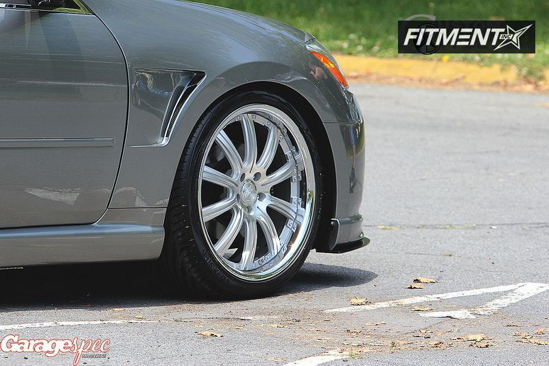 2006 Infiniti M45 Concept One Rs 10 Custom Lowered Adj Coil Overs