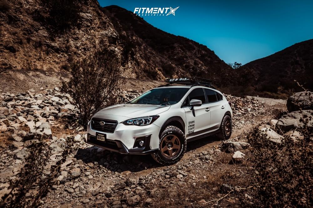 Subaru Crosstrek Off Road >> 2018 Subaru Crosstrek Vtx Offroad Rally 5 Eibach Lifted Fitment