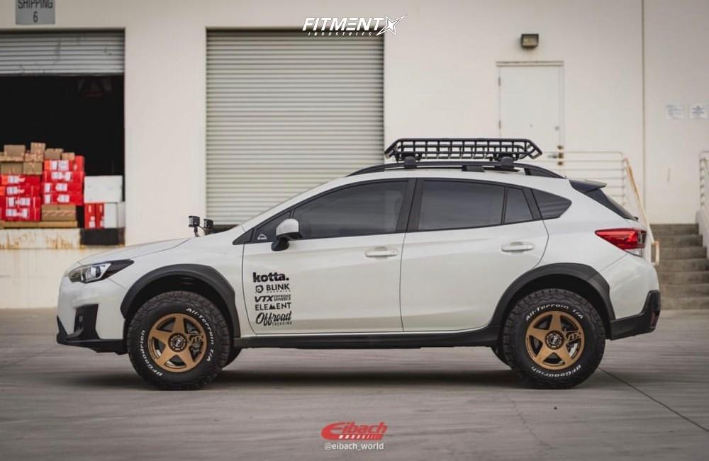 5 2018 Crosstrek Subaru Premium Eibach Lifted Vtx Offroad Rally Bronze