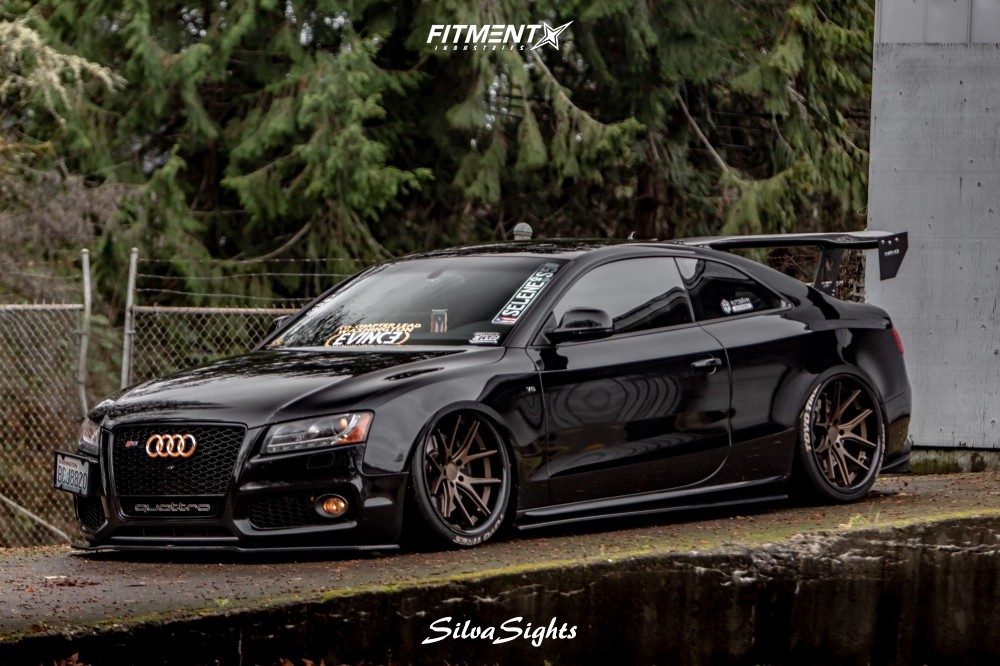 Toyo Tires Proxes >> 2008 Audi S5 Ferrada Fr2 Air Lift Performance Air Suspension | Fitment Industries