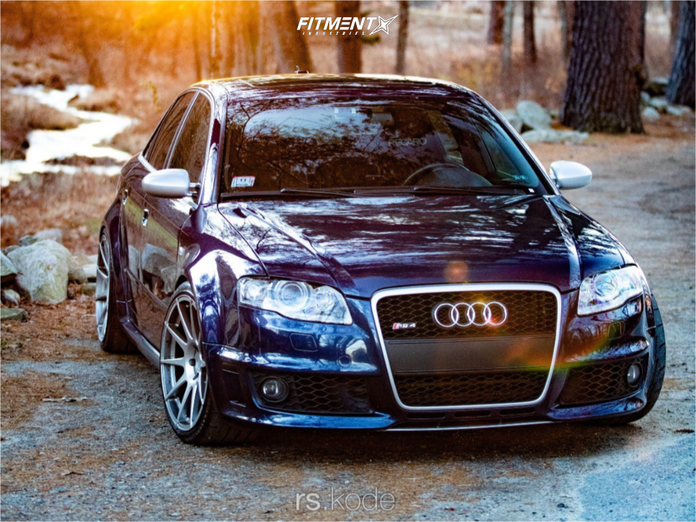 1 2007 Rs4 Audi Base Kw Coilovers Adv1 Adv110 Silver