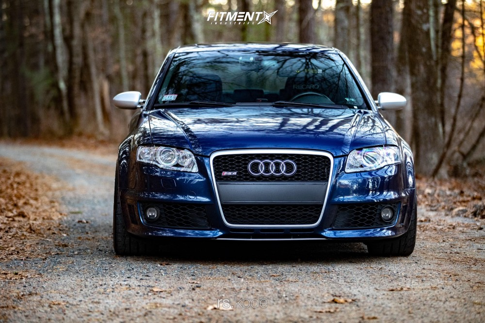 2 2007 Rs4 Audi Base Kw Coilovers Adv1 Adv110 Silver