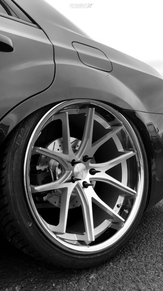 10 2017 300 Chrysler S Air Lift Performance Air Suspension Ferrada Fr2 Machined
