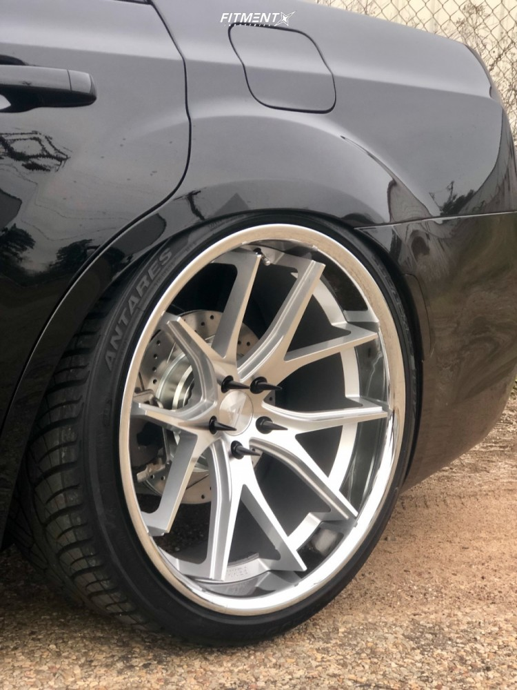 6 2017 300 Chrysler S Air Lift Performance Air Suspension Ferrada Fr2 Machined