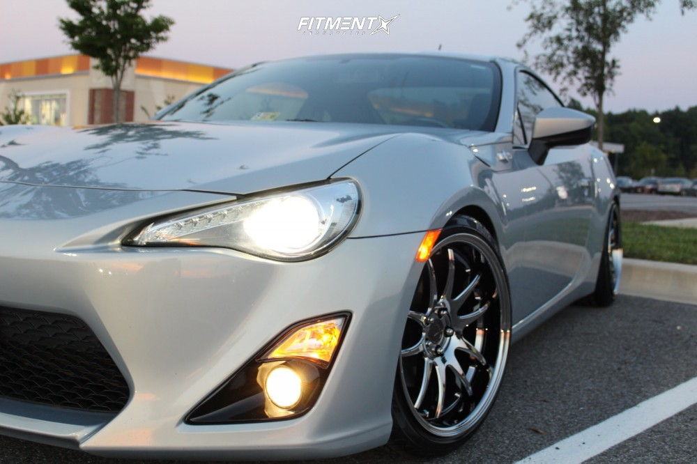 1 2013 Fr S Scion Base Tein Coilovers Aodhan Ds02 Chrome