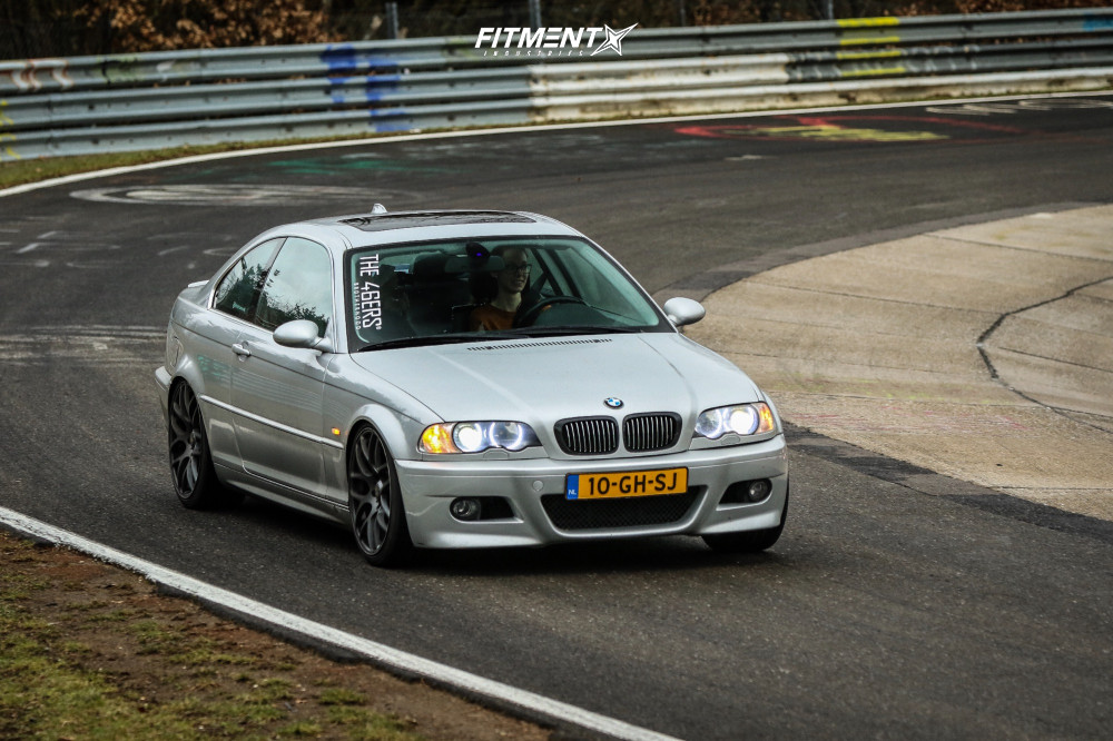 1999 Bmw 328i Base With 19x8 5 Vmr V710 And Kumho 235x35 On Lowering Springs 555070 Fitment Industries