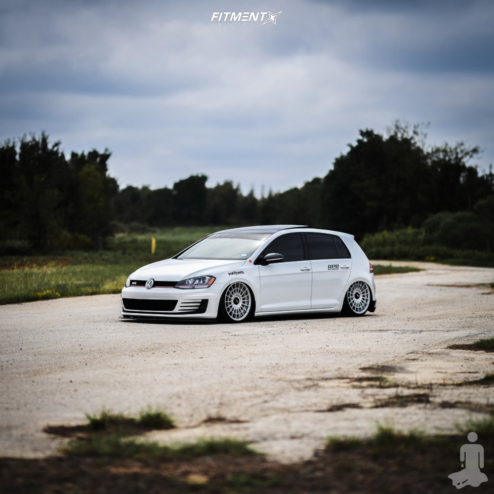 1 2015 Gti Volkswagen Se Air Lift Performance Air Suspension Rotiform Las R Machined