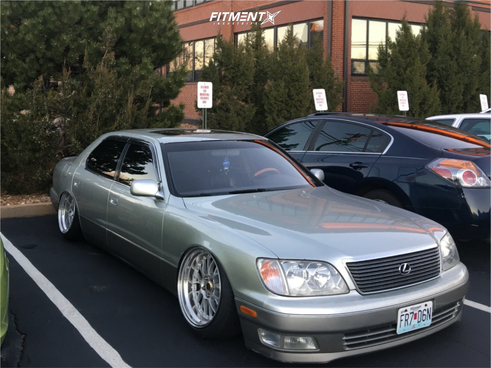 1 2000 Ls400 Lexus Base Airtekk Air Suspension Weds Kranze Erm Silver