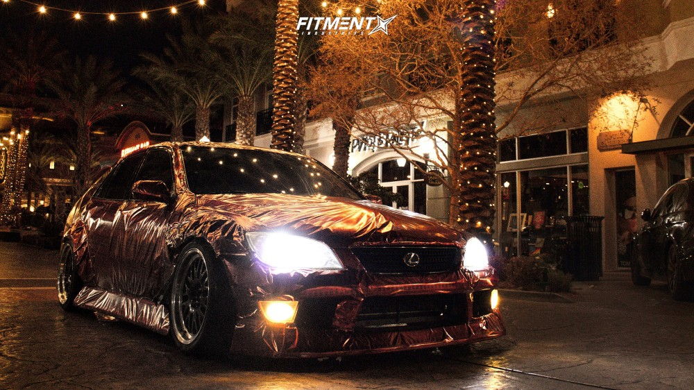5 2001 Is300 Lexus Base Yonaka Motorsports Coilovers Xxr 531 Black