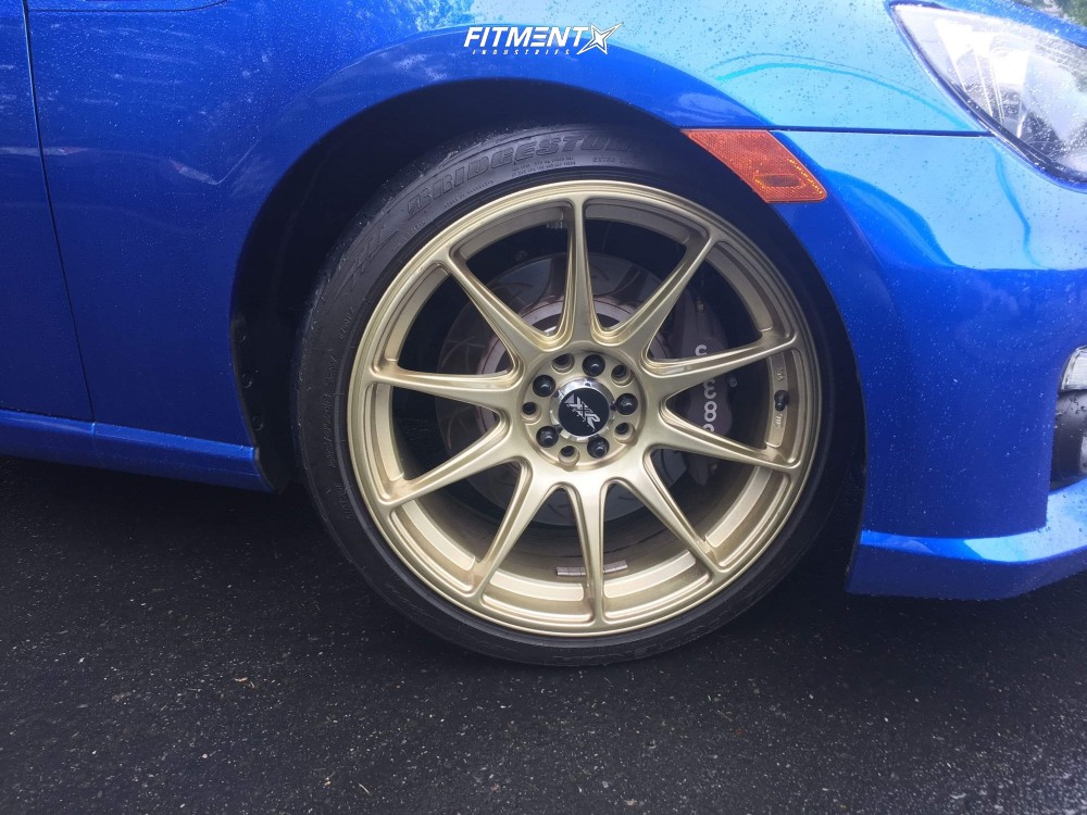 5 2013 Brz Subaru Sport Tech Silvers Coilovers Xxr 527 Gold