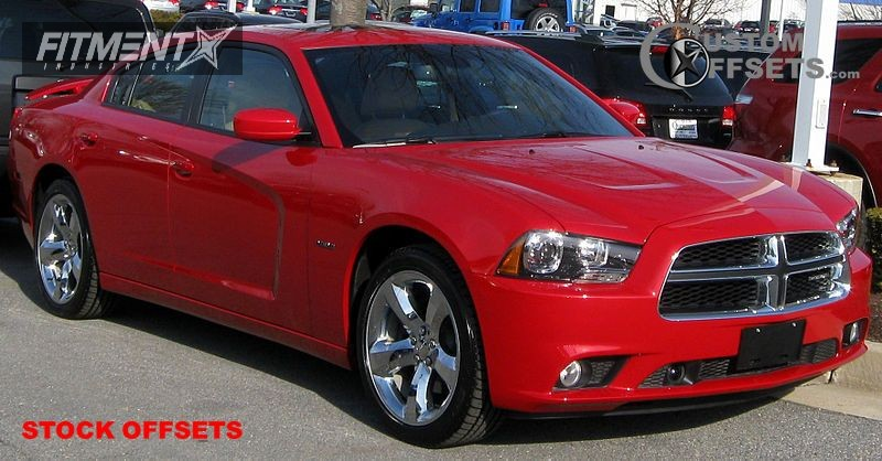 2011 Charger Dodge R T 4dr Sedan 57l 8cyl 5a Stock Stock Stock Chrome Tucked 5119 1