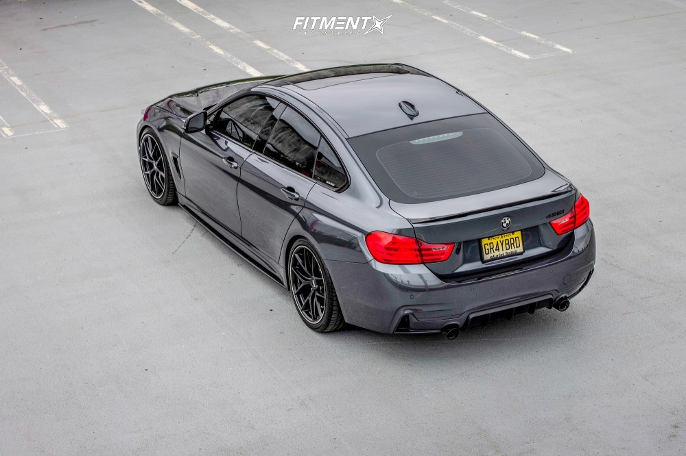 2016 Bmw 428i Xdrive Gran Coupe Base With 19x8 5 Bbs Ci R And Bridgestone 225x40 On Coilovers 611560 Fitment Industries