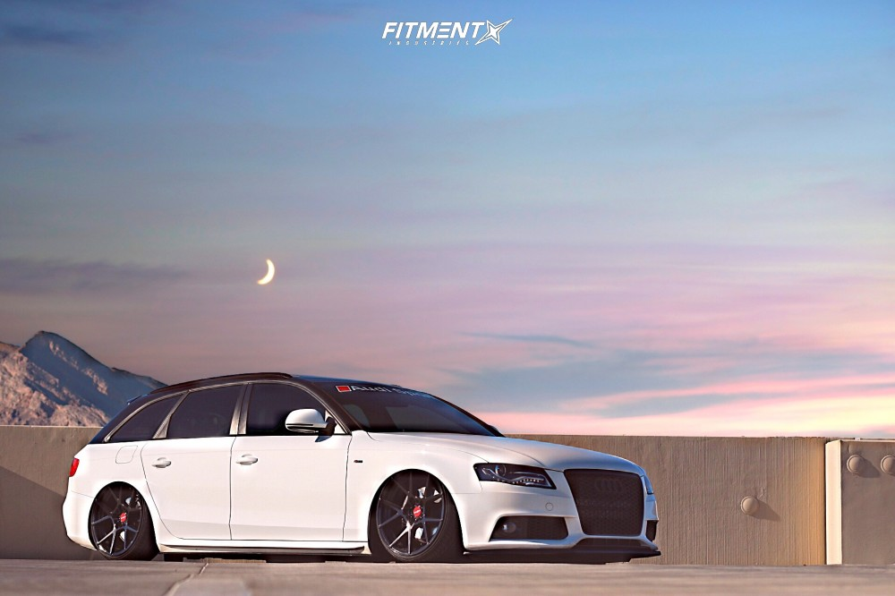 15 2009 A4 Quattro Audi Avant Air Lift Performance Air Suspension Rotiform Kps Black