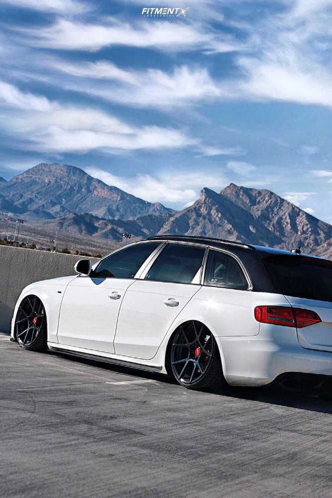 4 2009 A4 Quattro Audi Avant Air Lift Performance Air Suspension Rotiform Kps Black