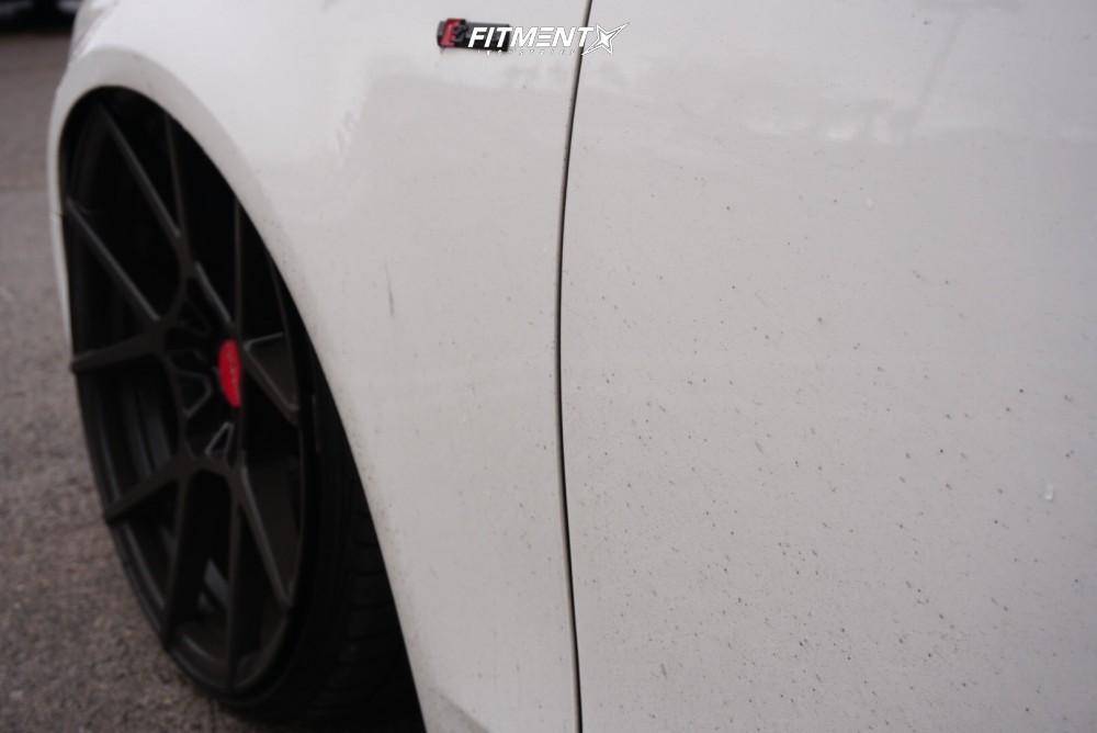 8 2009 A4 Quattro Audi Avant Air Lift Performance Air Suspension Rotiform Kps Black