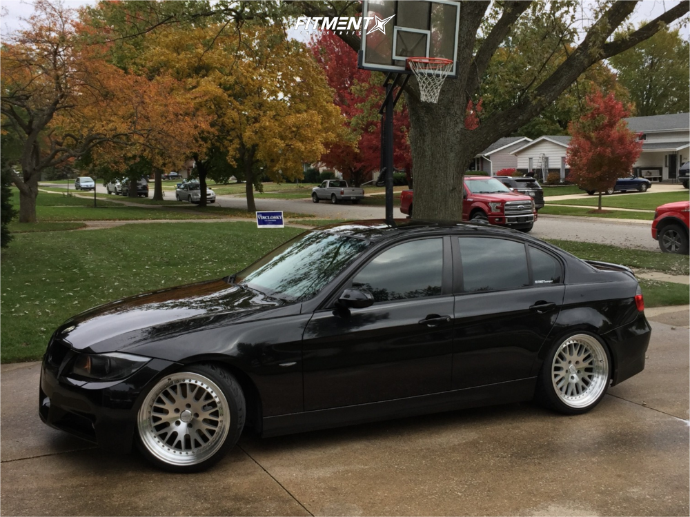 2008 Bmw 328i Base With 19x9 5 Varrstoen Es7 And Federal 235x35 On Coilovers 624730 Fitment Industries