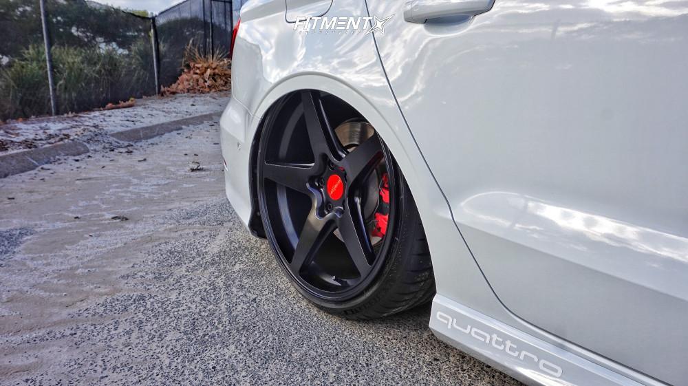 12 2016 S3 Audi Premium Plus Air Lift Performance Air Suspension Rotiform Wgr Black