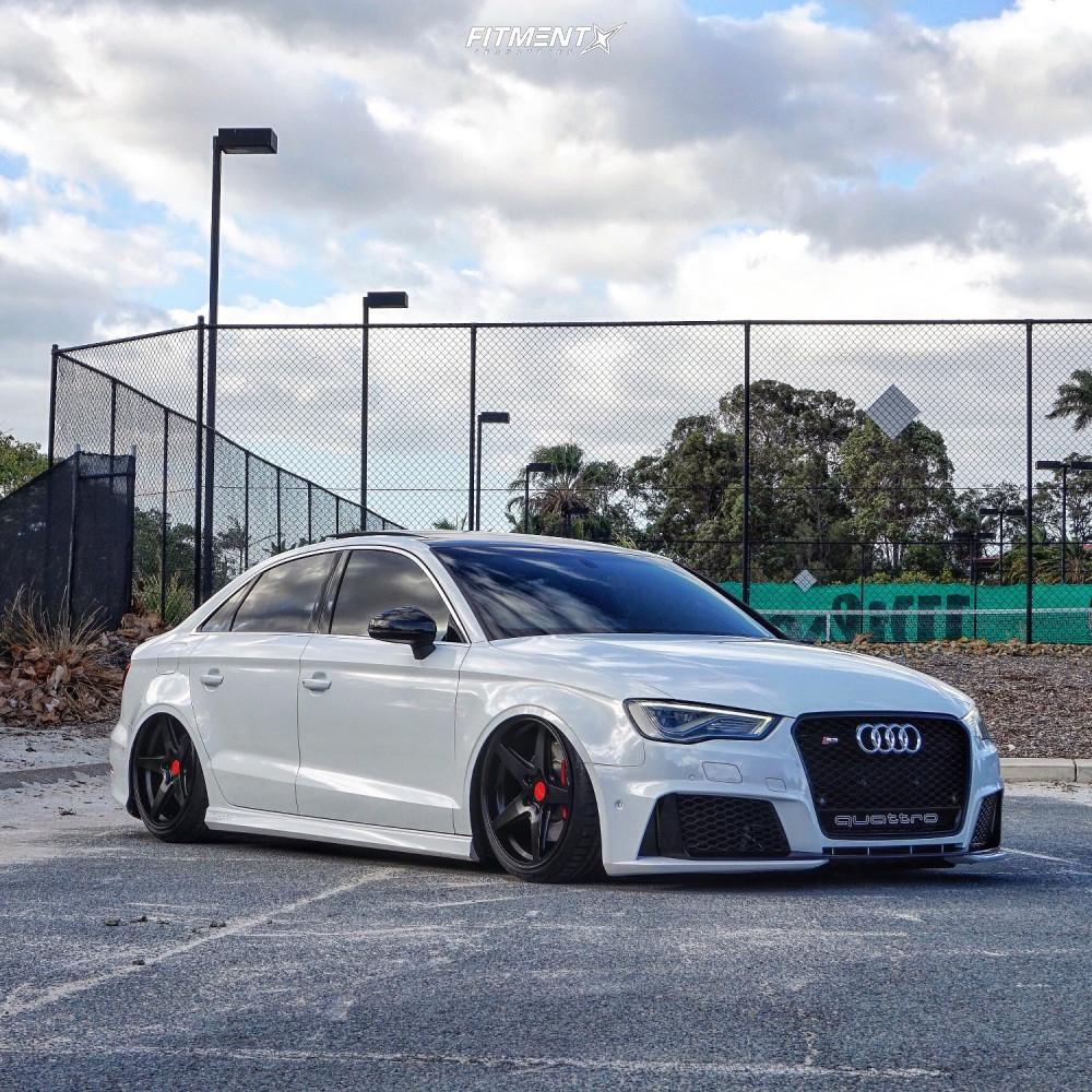 14 2016 S3 Audi Premium Plus Air Lift Performance Air Suspension Rotiform Wgr Black
