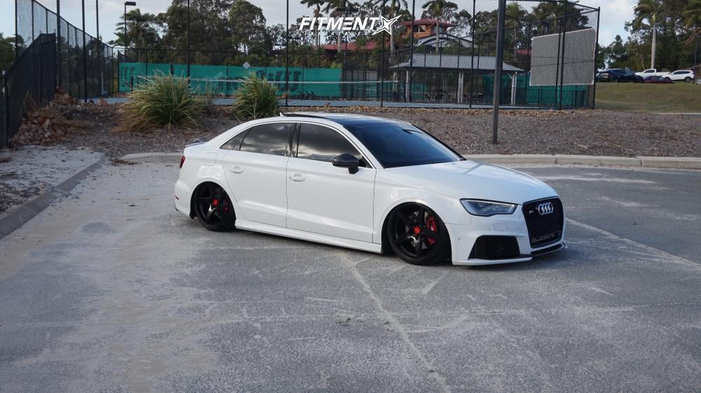 15 2016 S3 Audi Premium Plus Air Lift Performance Air Suspension Rotiform Wgr Black
