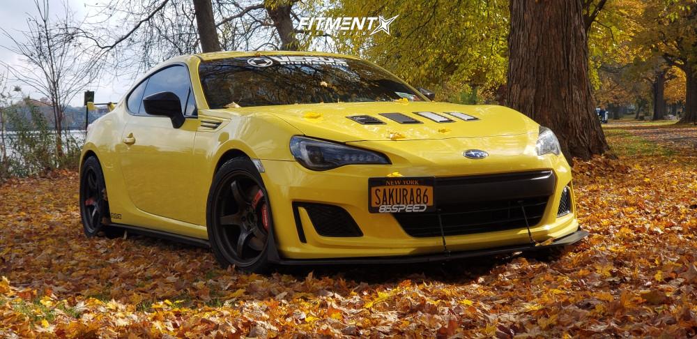6 2017 Brz Subaru Premium Race Comp Engineering Lowering Springs Rays Engineering 57cr Custom