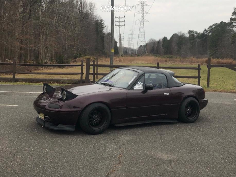 1 1994 Miata Mazda M Edition Broadway Static Air Suspension Jnc Jnc003 Black