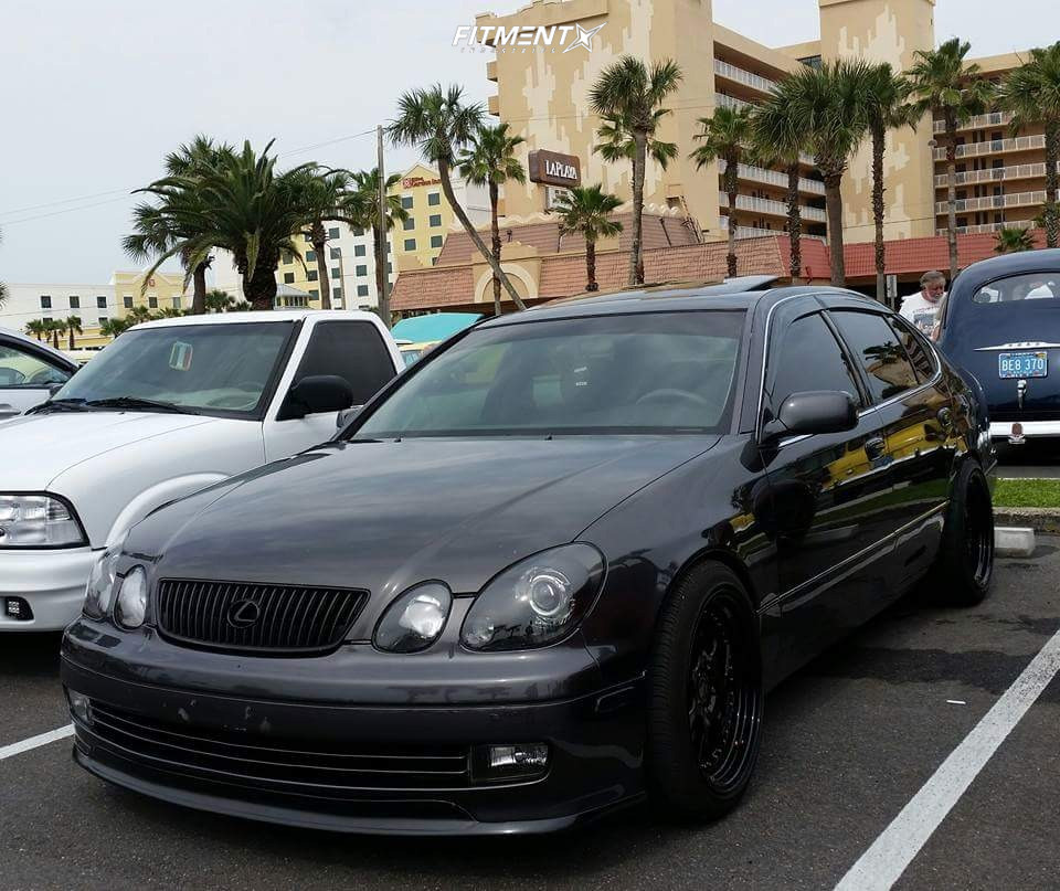 1 2002 Gs300 Lexus Base Tanabe Lowering Springs Aodhan Ah01 Black