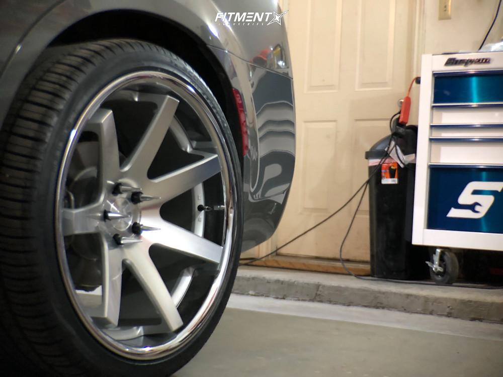 5 2017 300 Chrysler S Stock Stock Ferrada Fr1 Machined Accents