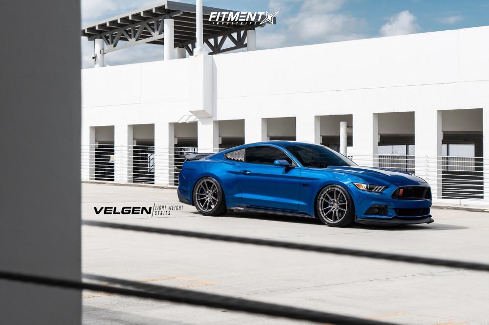 2017 Ford Mustang Velgen Vf5 Eibach Lowering Springs