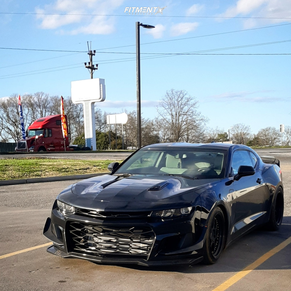 2 2017 Camaro Chevrolet Ls Bc Racing Coilovers Aodhan Ds01 Black