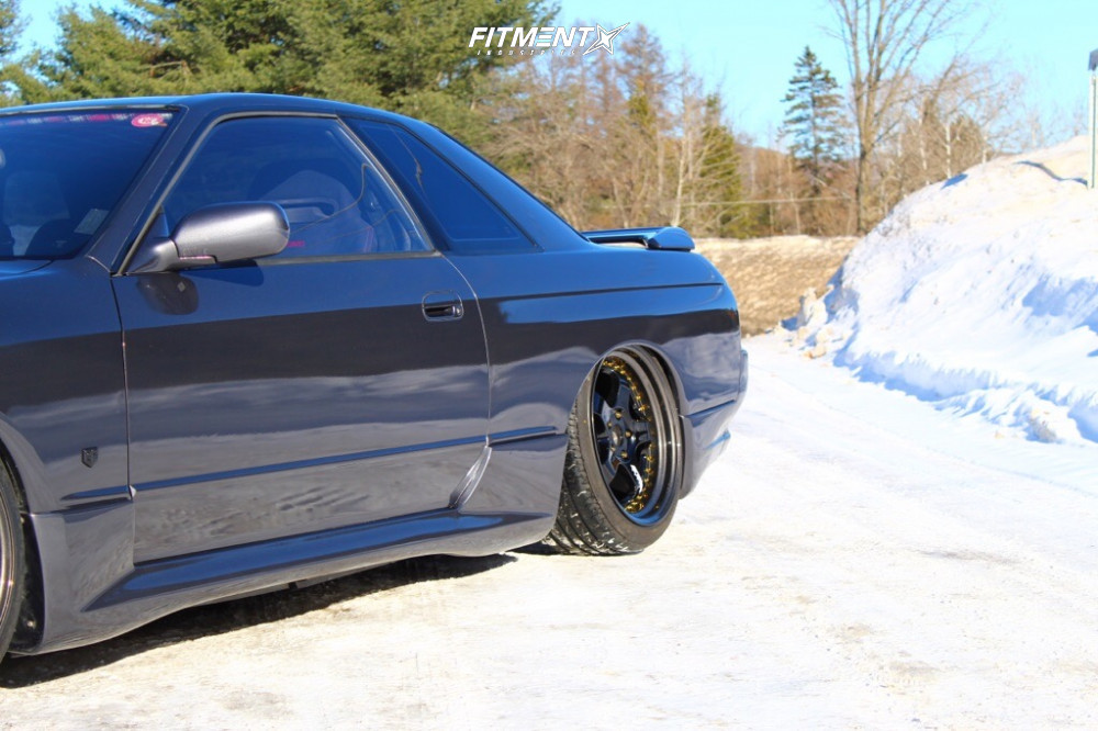 1991 Nissan Skyline R32 Work Meister M1 3p Custom Air